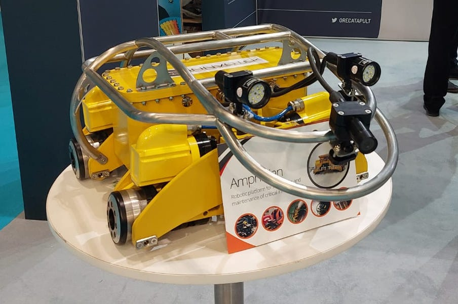 Amphibian at Global Offshore Wind 2021